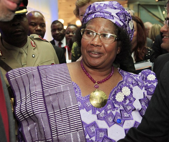 Joyce Banda credit photo:commons.wikimedia.org