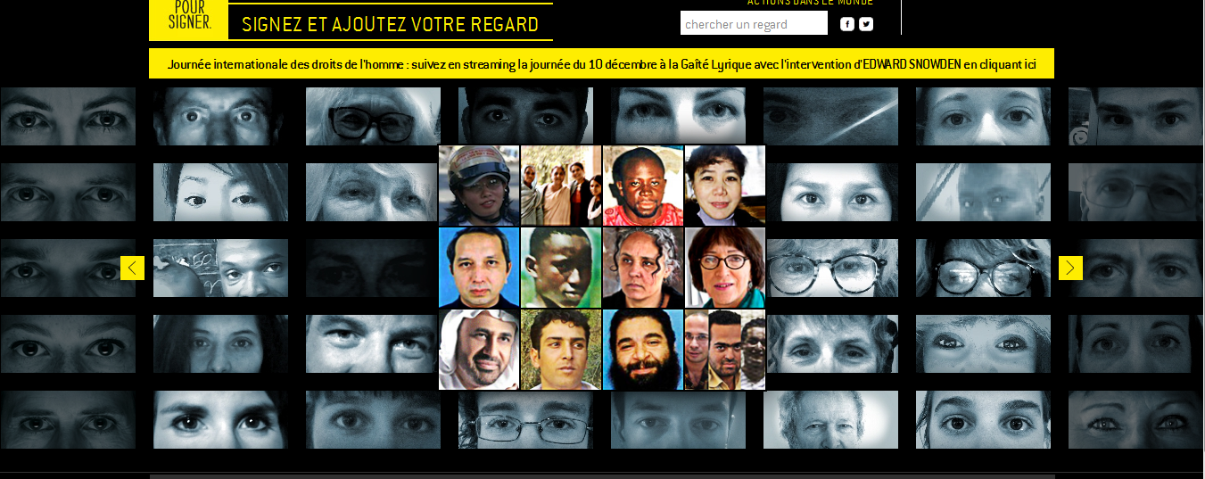 capture du site de la campagne