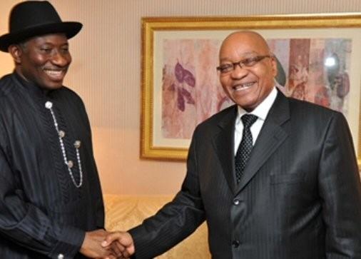 Présidents des deux grandes puissances africaines  credit:journaldemalabo.com