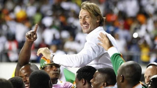 Hervé Renard, entraineur de l'équipe nationale de Cote d'ivoire Credit: senego.com