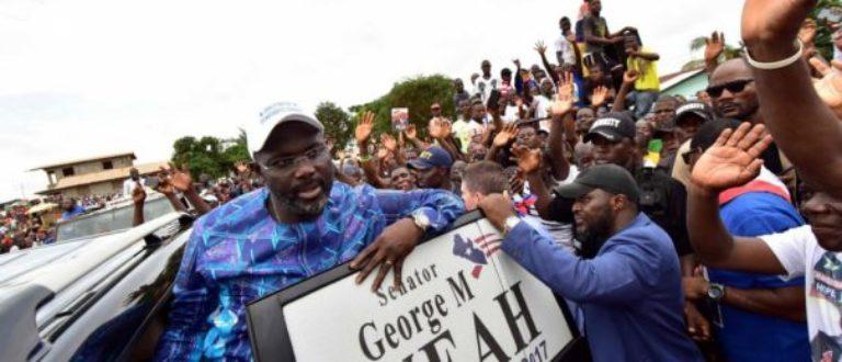 Article : George Weah et le piège de l'état de grâce